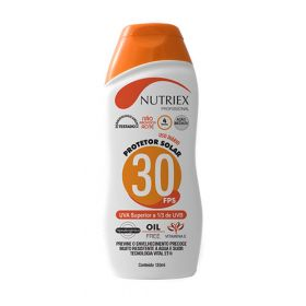 PROTETOR SOLAR FPS 30 1/3 UVA 120ML NUTRIEX 1