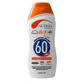 PROTETOR SOLAR FPS 60 1/3 UVA 120ML NUTRIEX 1